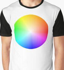 Colour Wheel Graphic T-Shirt