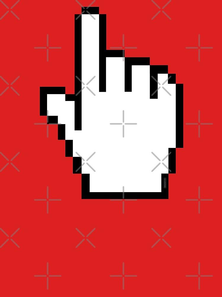 Index Finger Link Click Cursor by thedrumstick