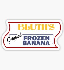 Frozen Banana Stand - Arrested Development Sticker