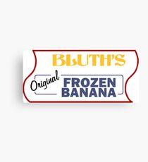 Frozen Banana Stand - Arrested Development Canvas Print
