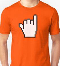 "Pixelated ""Hang Loose"" Cursor Unisex T-Shirt"