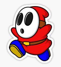 Red Shyguy Sticker