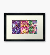 Jewel Rider Trio Framed Print