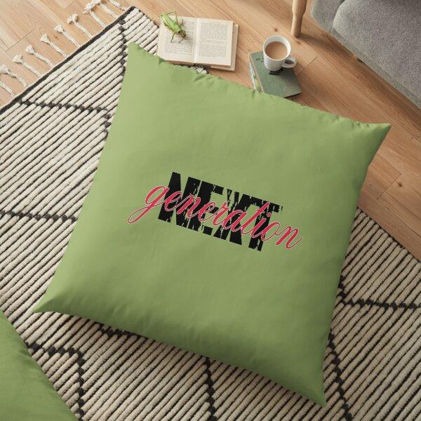 Next generation text Floor Pillow