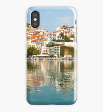 Skopelos city iPhone Case/Skin