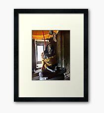 Siem Reap statue Framed Print
