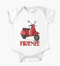 FIRENZE - Florence Italy - Scooter! One Piece - Short Sleeve