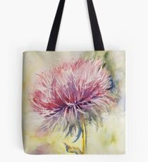 Purple Thistle Tote Bag