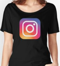New Instagram LOGO Women's Relaxed Fit T-Shirt