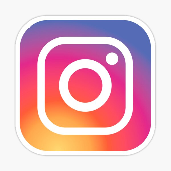 New Instagram LOGO Sticker