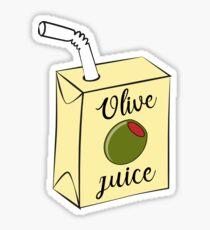 Olive Juice Sticker