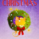Xmas Christmas Wreath by capdeville13