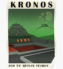 Star Trek - Travel Poster (Kronos) Poster