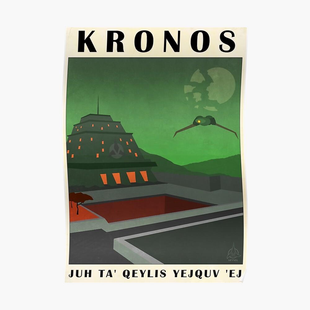 Star Trek - Reiseplakat (Kronos) Poster