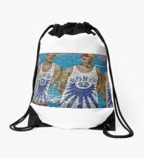 Bondi Beach Lifesavers Drawstring Bag