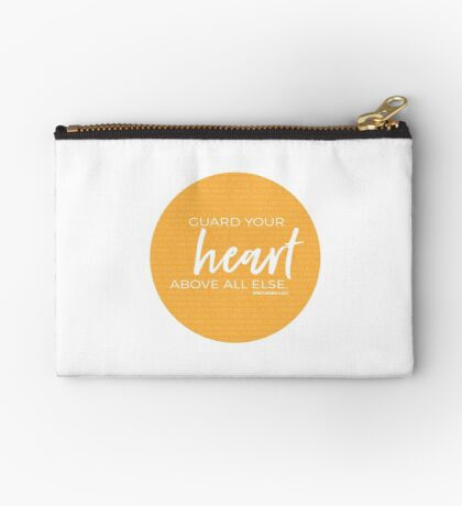 Guard your heart | Proverbs 4:23 Studio Pouch