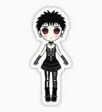 Gothic girl Sticker