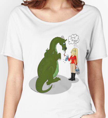 Good Dragon Women's Relaxed Fit T-Shirt