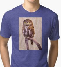 Pygmy Owl Canvas Print, Photographic Print, Art Print, Framed Print, Metal Print, Greeting Card, iPhone Case, Samsung Galaxy Case, iPad Case, Throw Pillow, Tote Bag, Tri-blend T-Shirt
