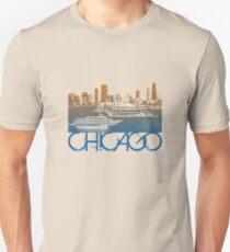 Chicago Skyline T-shirt Design Unisex T-Shirt