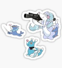 Unpopplior Starter Sticker