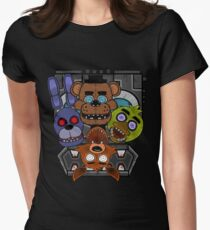 Five Nights at Freddy's Women's Fitted T-Shirt