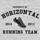 Horizontal Running Team by DetourShirts