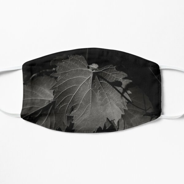 Black & White Plants Flat Mask