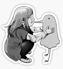 Goodnight / Oyasumi Punpun - Aiko's Kiss Sticker