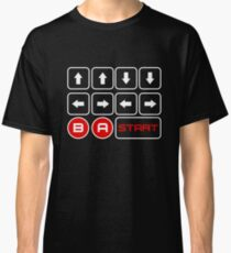 Cheat Code - Up Up Down Down Left Right Left Right B A Start  Classic T-Shirt