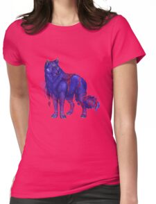 anime animal Womens Fitted T-Shirt
