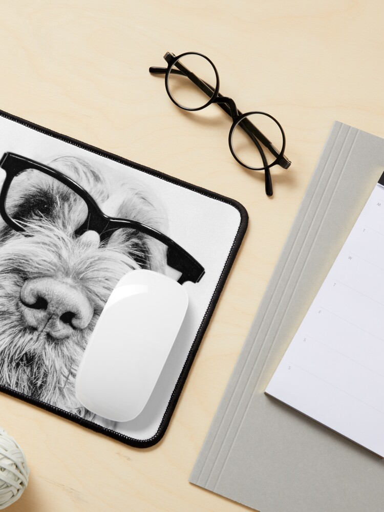 Alternate view of Intelligent friend Spinone Mouse Pad