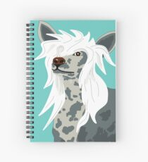 Chinese Crested Spiral Notebook