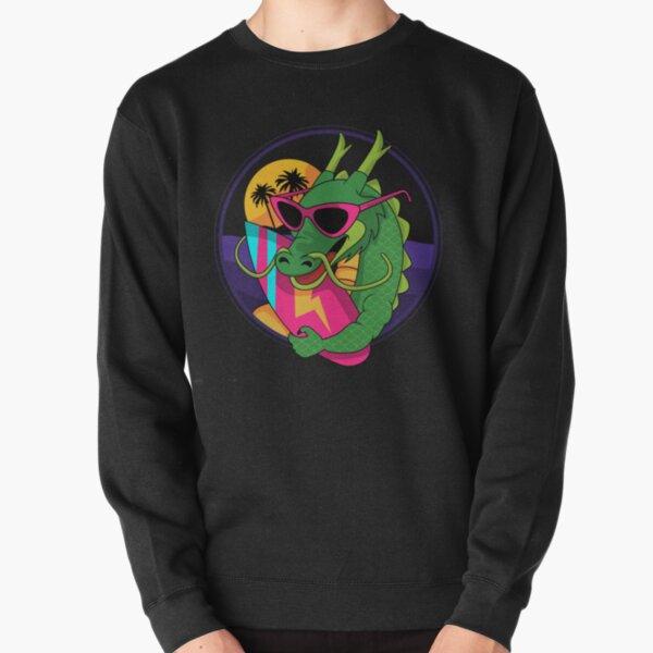 Surfer Dragon Pullover Sweatshirt
