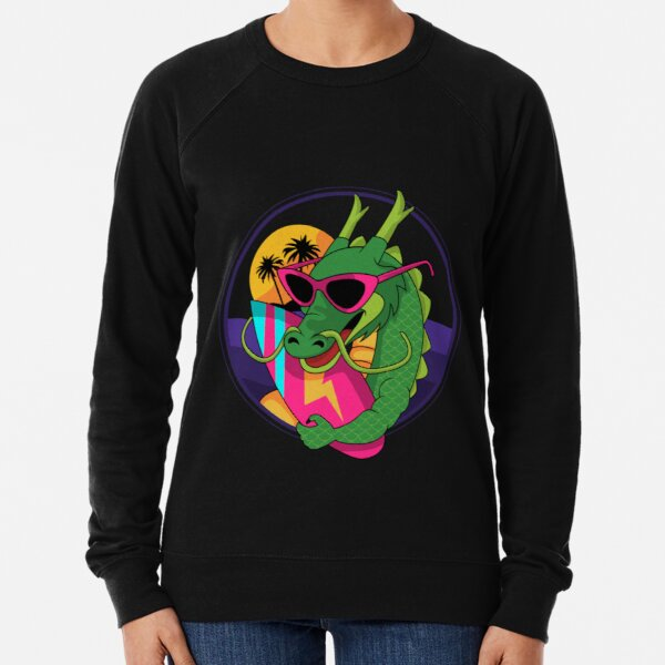 Surfer Dragon Lightweight Sweatshirt