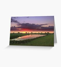 Dawn Greeting Card