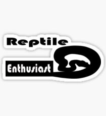 Reptile Enthusiast Sticker