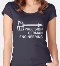 Precision German Engineering - Overwatch - Reinhardt Women's Fitted Scoop T-Shirt