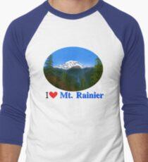Mt Rainier Men's Baseball ¾ T-Shirt