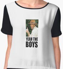 yeah the boys Women's Chiffon Top