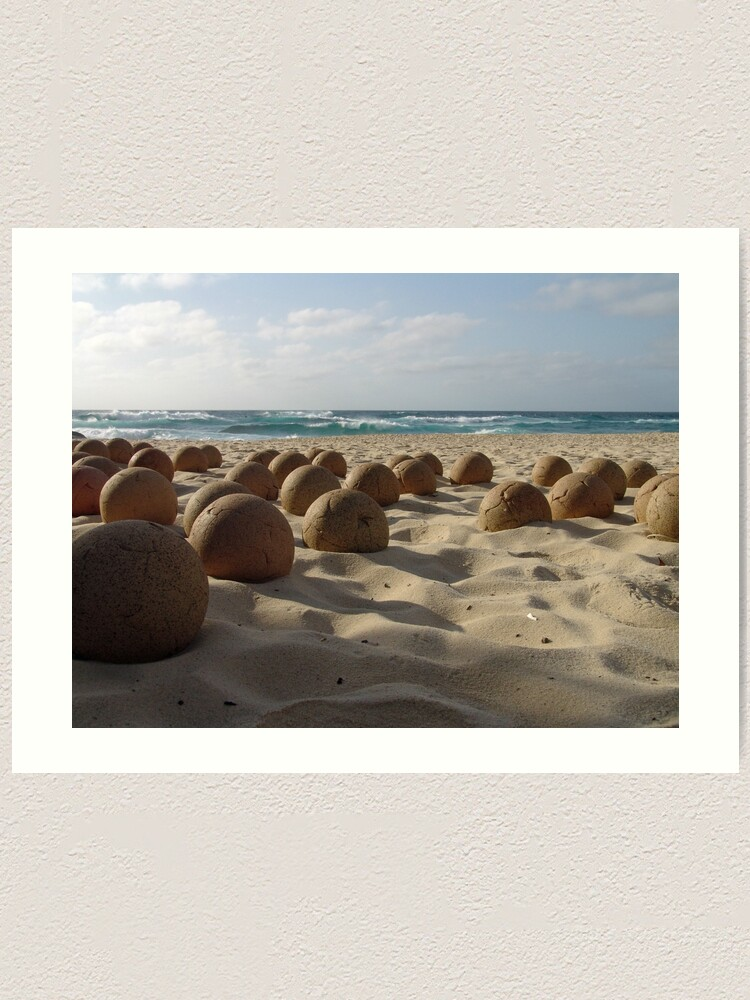 Alternate view of Balls By The Sea 2008/10/28 Art Print