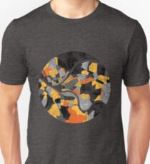 Pittsburgh Map Unisex T-Shirt