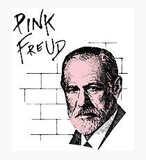 Pink Freud Sigmund Freud Photographic Print