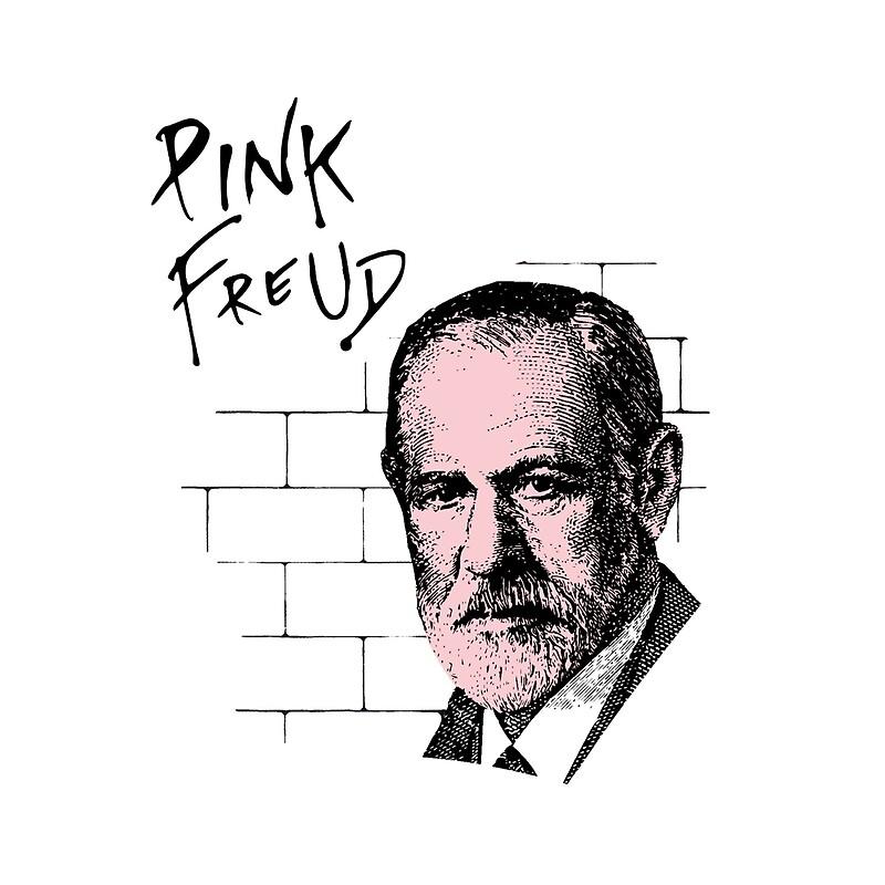 Pink freud sigmund freud tote bags by theshirtyurt redbubble pink freud sigmund freud bookmarktalkfo Images