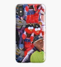 A man among his heros iPhone Case/Skin
