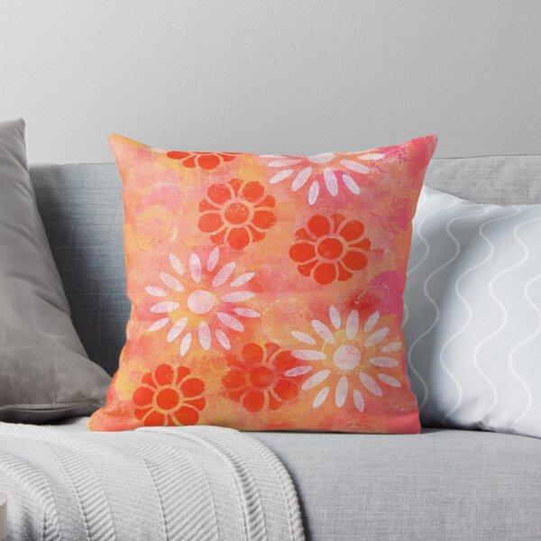 """Magenta Delight"" Original Design by PhillipaheART Throw Pillow"