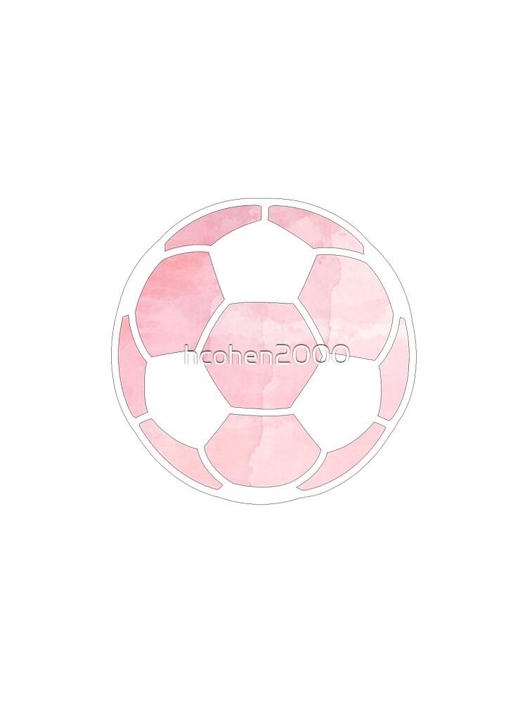 Fußballkugel Pink von hcohen2000