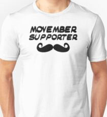 Movember supporter T-Shirt