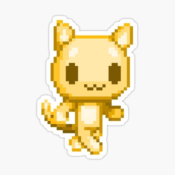 Gold Oka Sticker