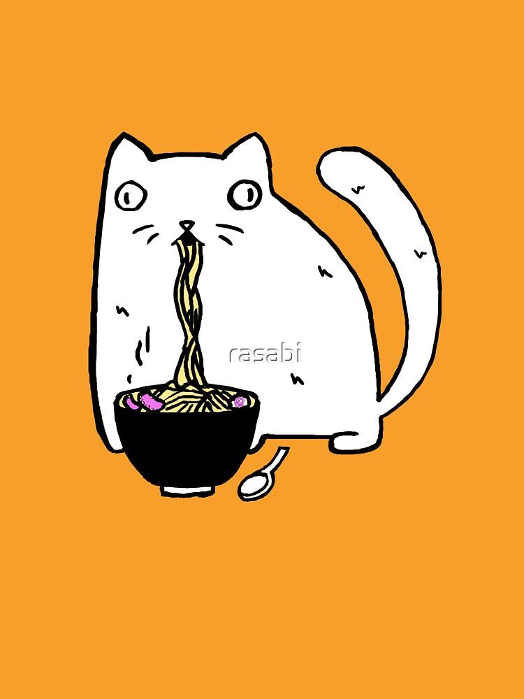 Rasabi Cat - Ramen para siempre de rasabi